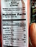 Milk Straw Nutritional Info