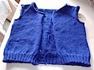 Blue Cardigan Body